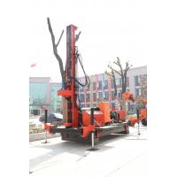 Full Hydraulic Jet Grouting Drilling Rig Double Winch , DTH Drill Machine Manufactures