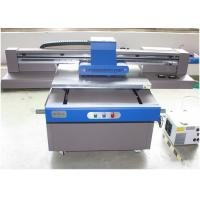 Automatic Height Adjustment UV Flatbed Printer CMYK / CMYKLc Lm / White Color Manufactures