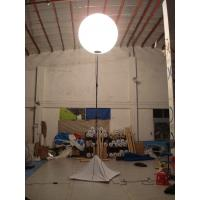 Quality Waterproof, fireproof PVC Standing lighting balloon , PVC or oxford Inflatable for sale