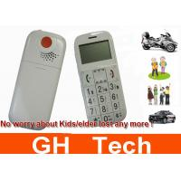 China Big Speaker Cell Phone GPS Tracker With SOS Button For Kids / Senior People on sale