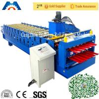 Color Steel Plate Double Layer Roof Panel Roll Forming Machine 1200 / 1250mm Width Manufactures