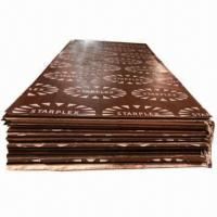 Film Faced Plywood, Black/Brown Film F/B, Poplar Core, WBP Glue, Fits for Concrete Formwork Manufactures