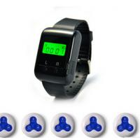 Restaurant& wireless calling system  3 keyboard call button and watch pager Manufactures