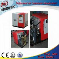 Pollution - Free Red Color Screw Type Air Compressor Environmental Friendly Manufactures