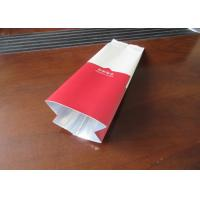 Resealable Coffee Packaging Bags With Valve , Stand Up Coffee Pouch Manufactures