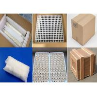 Styrofoam Insulation Spacers : Inch zirconia square ceramic thermal insulation
