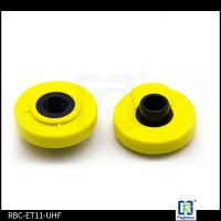 Non Removeable EID Two Pieces UHF Tags RFID Livestock Ear Tags For Swines/ Pigs Manufactures