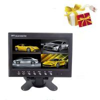 7 inch Quad Car LCD Monitor High Resolution / Rearview Monitor Manufactures