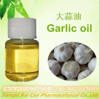 100%Pure Natural  extract essential of  Garlic oil Manufactures