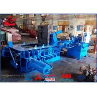 China 100 Ton Hydraulic Copper Wire Scrap Baling Press Machine 200 × 200mm Bale Size on sale