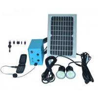 China Multi-function portable solar led light bulb with mobile phone charger. on sale