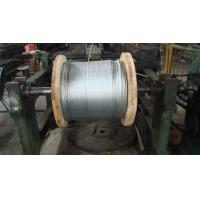 ACSR Conductor Flexible Galvanised Steel Wire , 3 8 7x19 Galvanized Aircraft Cable Manufactures