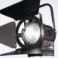 China High Light Output 200W LED Fresnel Light Daylight Battery Powered for Film and Studio Lighting on sale
