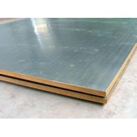 China Explosion welding metal composite plate on sale