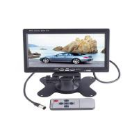 China Car Electronics Products High-Resolution 7 Tft Lcd Color Car Rearview Headrest Monitor Dvd Vcr on sale