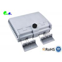 12 Cores Fiber Termination Box Wall Mounted Outdoor Lockable IP55 ABS Material Manufactures