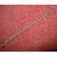 Stainless Steel Twist Link Chain with 2mm Diameter and Smooth Surface Finish Manufactures