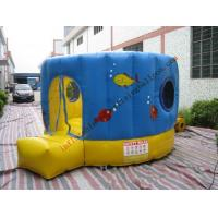Colorful Inflatable Castle Bouncer With Round Shaped for Family Manufactures