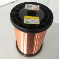 China Solderable Coils / Relays Self Bonding Enameled Copper Wire Polyurethane Insulation on sale