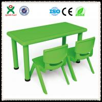 Classroom Furniture Used Children Plastic Table Chairs For Sale Cheap Price Tables QX-194F Manufactures