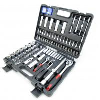 "SOCKET SET 100 PCS SOCKET SET 1/4 ""& 1/2 ""DR. Manufactures"