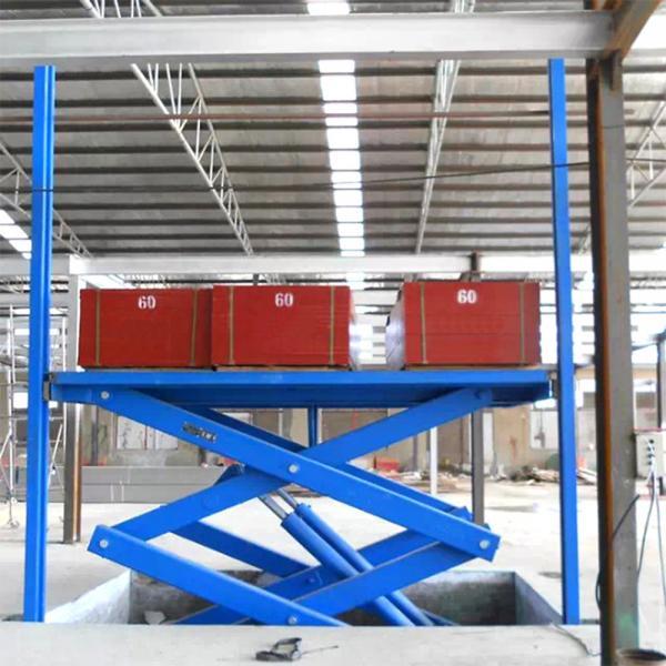 Quality China Tavol 3.7 m Stationary Scissor Lift of Hydraulic Car Scissor Lifts for sale