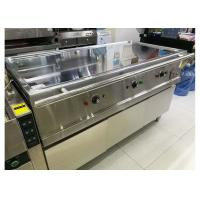 China 380V 8.4KW Hot Buffet Equipment Electric Teppanyaki Griddle Stainless Steel Hot Plate on sale