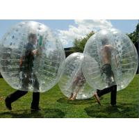 China Human Outdoor Inflatable Toys soccer Bubble Ball / Buddy Bumper Ball on sale