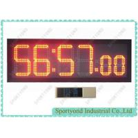 Ultra Bright Led Digital Clock Display , Countdown And Clockwise Clock Time Board Manufactures