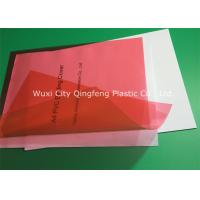 0.20MM PVC Binding Covers Clear Finish A4 Clear Front Report Cover Manufactures