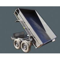 Steel 10 X 5 Tipper Trailer , Hydraulic Dump Trailer With Light Protectors