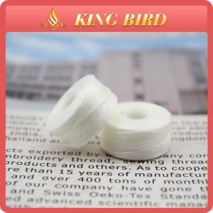 250D/3 Polyester Nylon Bobbin Hand Spinning Yarn L M G Type Raw White Manufactures