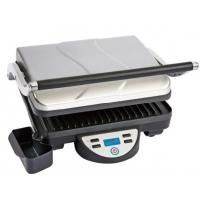 China Stainless Steel Home Panini Grill And Sandwich Maker With Digital LCD Display on sale