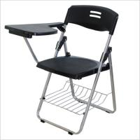China School Student Folding Training Chair With Writing Conference Pad Table Plastic Book Basket on sale