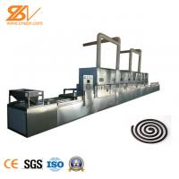 PLC Microwave Drying Equipment 1800 Kg / H  For Mosquito Repellent Incense Manufactures