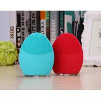 Mini Exfoliator Silicone Pore Cleansing Pad / Facial Brush With Silicone Head Manufactures