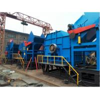 Single - Shaft  Scrap Metal and Waste Plastic Crusher Machine With Low Power Consumption Manufactures