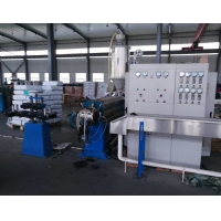 China SJ90/25 10mm Flat PVC Cable Extrusion Line on sale