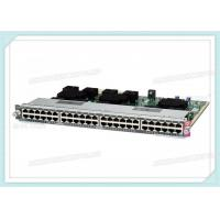 Buy cheap WS-X4748-SFP-E Cisco Catalyst Switch 4500 E- Series Line Card 48-Port GE from wholesalers