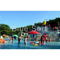 Kids Small Spray Colorful Water Park Playground For Children Water Park Manufactures