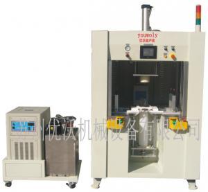 China PP water filter plastic parts welding spin machine hot plate machine ultrasonic welding machine on sale
