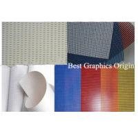 High Strength PVC Coated Mesh With 250dx250d Mesh Material For Outdoor Chairs Manufactures