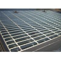 ISO9001 Serrated Steel Grating For Flooring Customized Cross Bar Spacing Manufactures