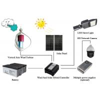 LED Street Light Off Grid Solar Wind Hybrid System Monitoring Power Supply System Manufactures