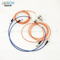 China High Speed Single Channel Fiber Optic Rotating Joint With OD 12mm , UL ROHS Certification on sale