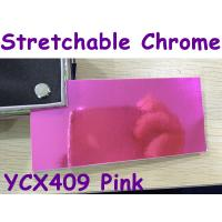 China Stretchable Chrome Mirror Car Wrapping Vinyl Film - Chrome Pink wholesale