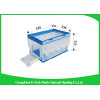 Household Collapsible Plastic Containers Easy Stacking Environmental Protectionv Manufactures