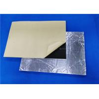 Rubber Foam Roof Heat Insulation / Soundproof / Sound Deadening Material For Car Manufactures