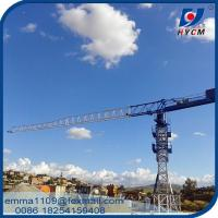 Factory PT5010 HYCM Tower Crane 50M Lifting Jib 4T Max. Load Chart Manufactures