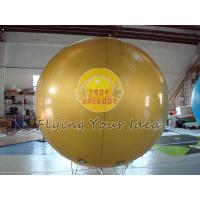 Full Digital Printed Gold Color Inflatable Advertising Helium Balloon for Celebration day Manufactures